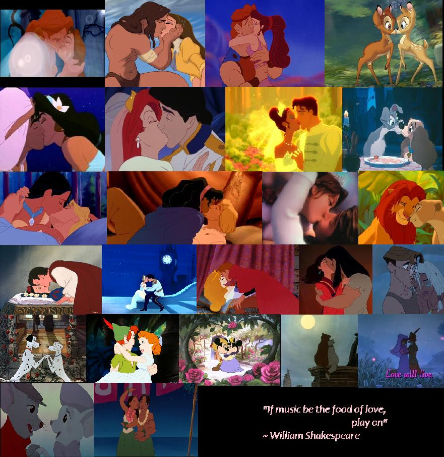 Love Kiss Wallpaper With Quotes Download Disney Love Wallpaper Gallery