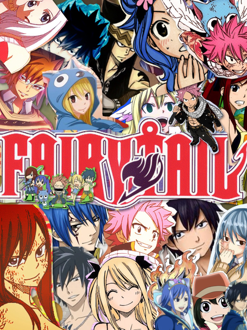 Hd Wallpaper Love Kiss Download Download Fairy Tail Group Wallpaper Gallery