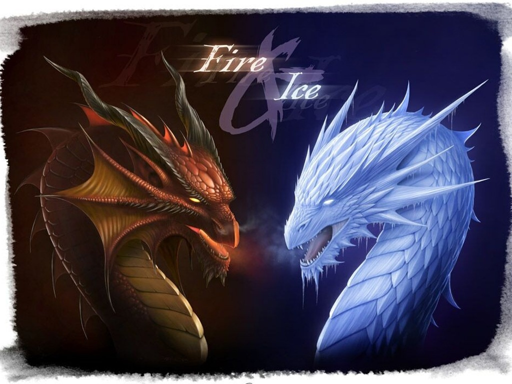 Hd Game Quote Wallpaper Download Fire And Ice Dragon Wallpaper Gallery