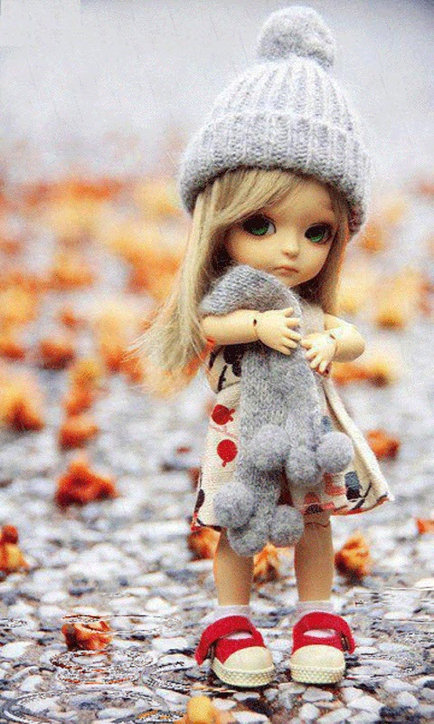 Cute Dolls Wallpapers With Quotes Download Free Cute Live Wallpapers Gallery