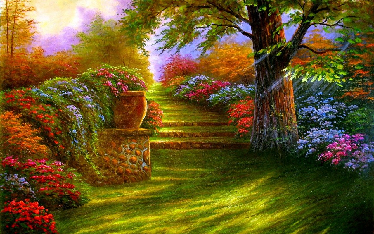 Download Full HD Garden Wallpaper Gallery