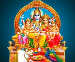Lord Shiva Parvati Hd Wallpapers Download God Shiva Family Wallpaper Gallery