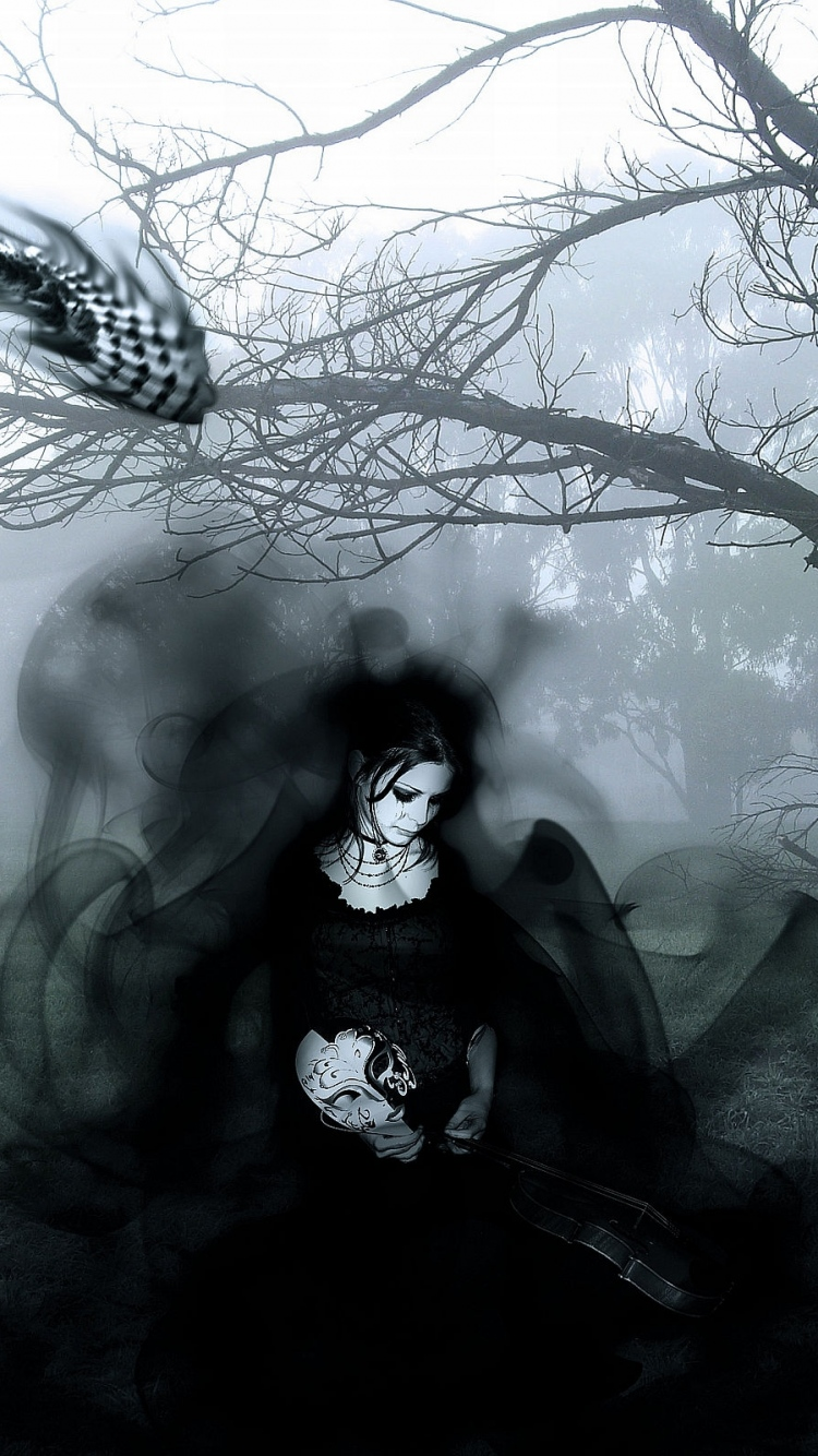 Gothic Girl Live Wallpaper Download Gothic Iphone Wallpaper Gallery
