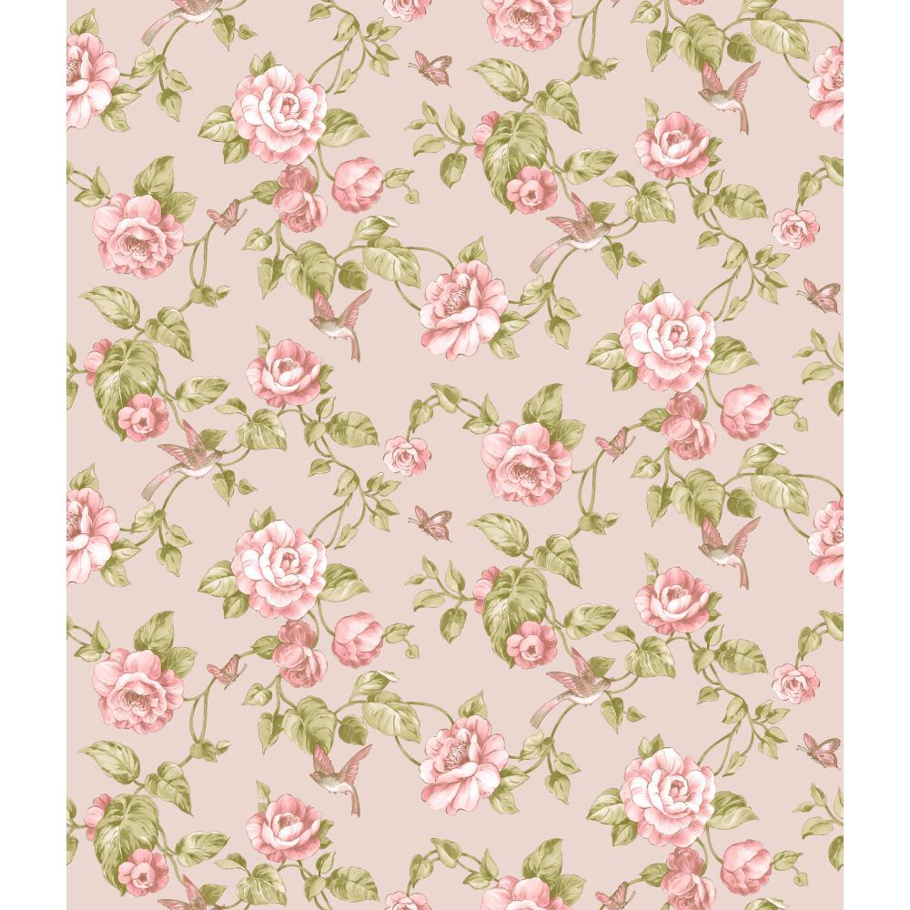 Iphone 5s Shelf Wallpaper Download Green And Pink Floral Wallpaper Gallery