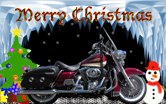 Download Harley Davidson Christmas Wallpaper Gallery