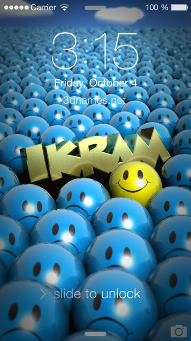 Wallpaper Iphone Funny Download Ikram Name Wallpaper Gallery