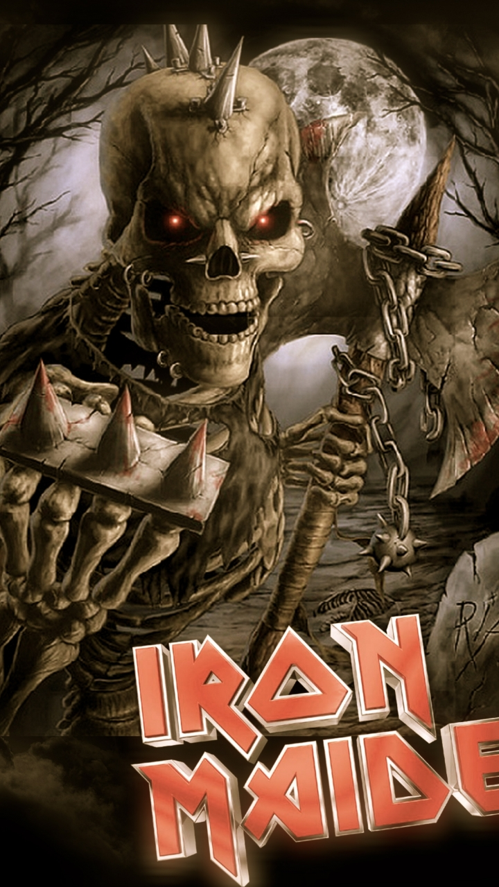 Download Iron Maiden Cell Phone Wallpaper Gallery
