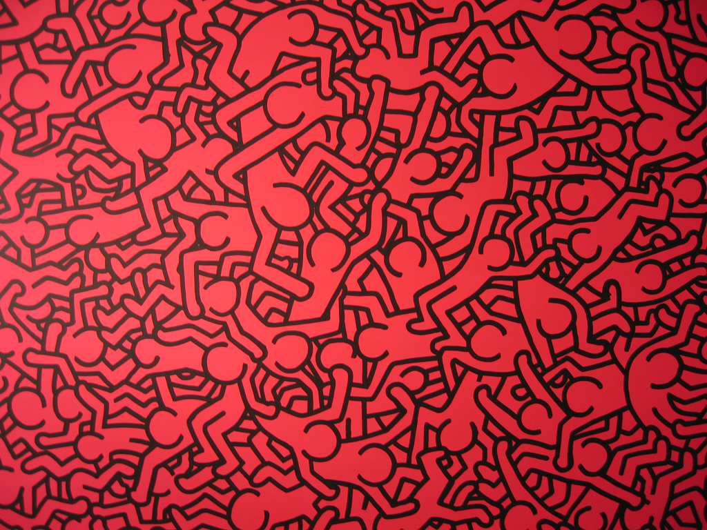 Christian Fall Iphone Wallpaper Download Keith Haring Wallpaper Gallery