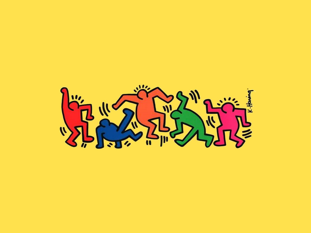 Android Fall Live Wallpaper Download Keith Haring Wallpaper Gallery