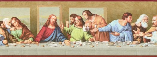 Removable Wallpaper Girls Download Last Supper Wallpaper Gallery