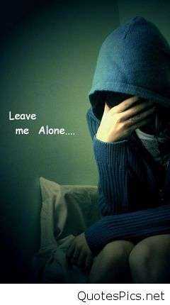 Sad Girl Wallpaper With Hindi Quotes Download Leave Me Alone Wallpapers Love Gallery