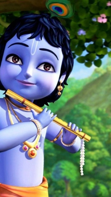 Christian Quotes Wallpaper For Android Download Little Krishna Wallpaper For Mobile Gallery