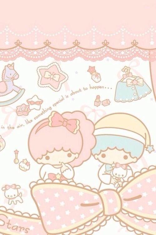 Cute Hello Kitty Wallpaper Cell Phone Download Little Twins Star Wallpaper Gallery