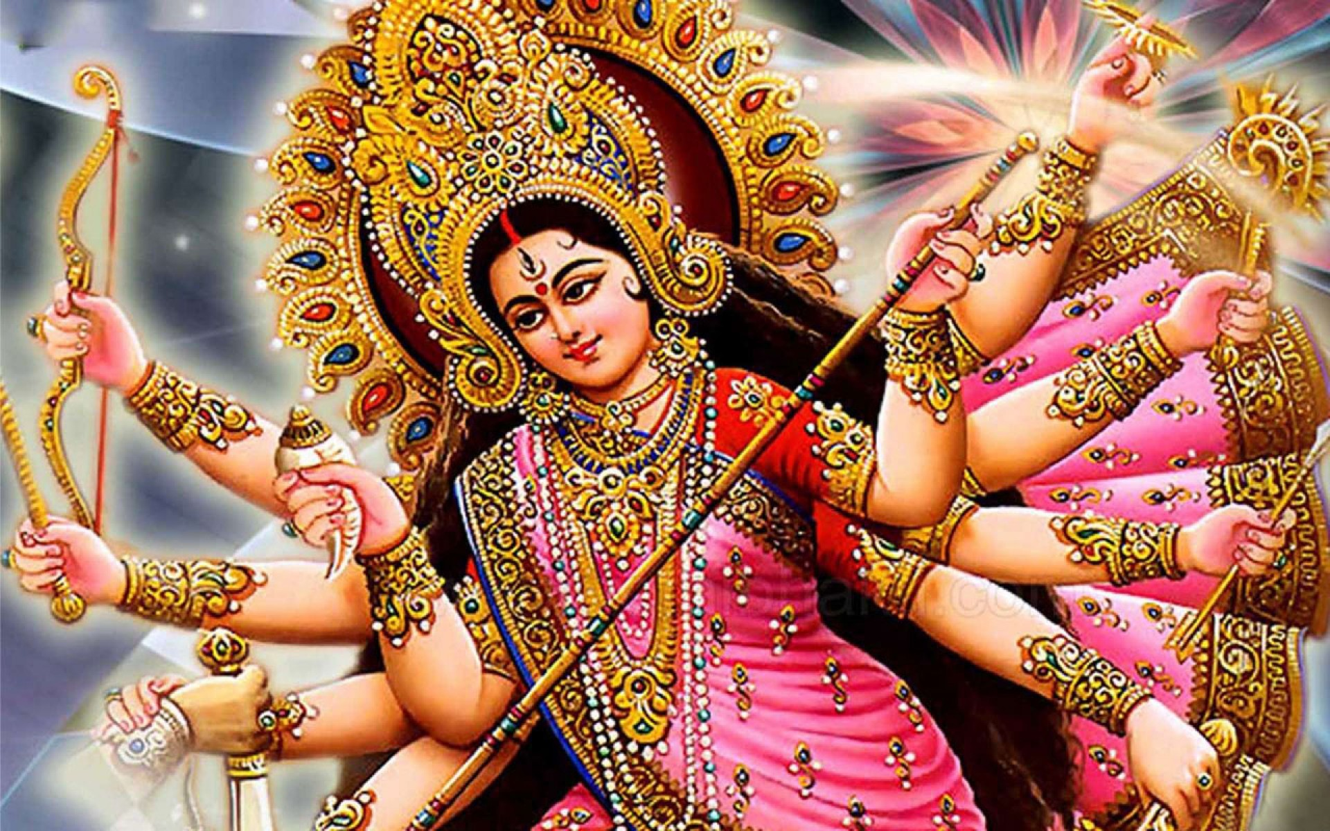 Santoshi Mata 3d Wallpaper Download Maa Durga Wallpapers Images Gallery