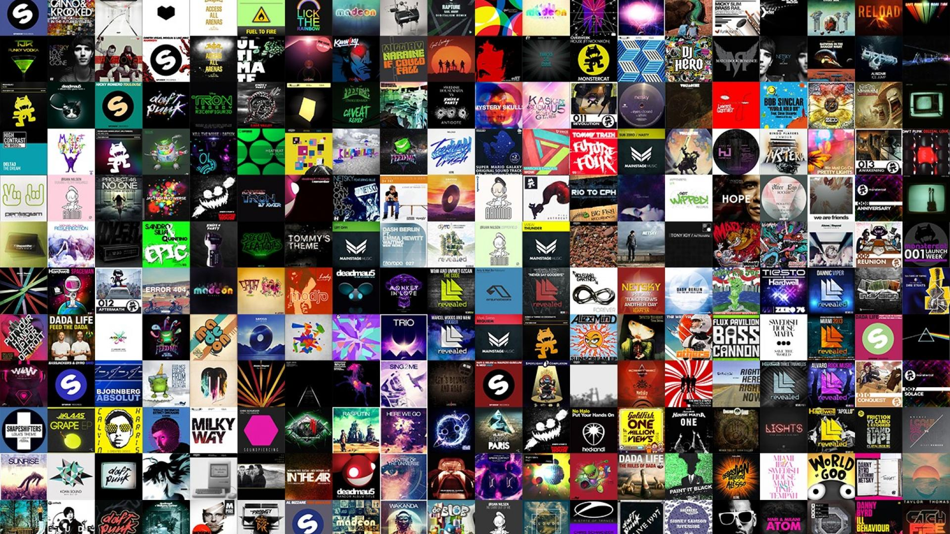 Download Music Collage Wallpaper Gallery