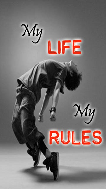 More Live Wallpapers Iphone X Download My Life My Rules Wallpapers Hd Gallery