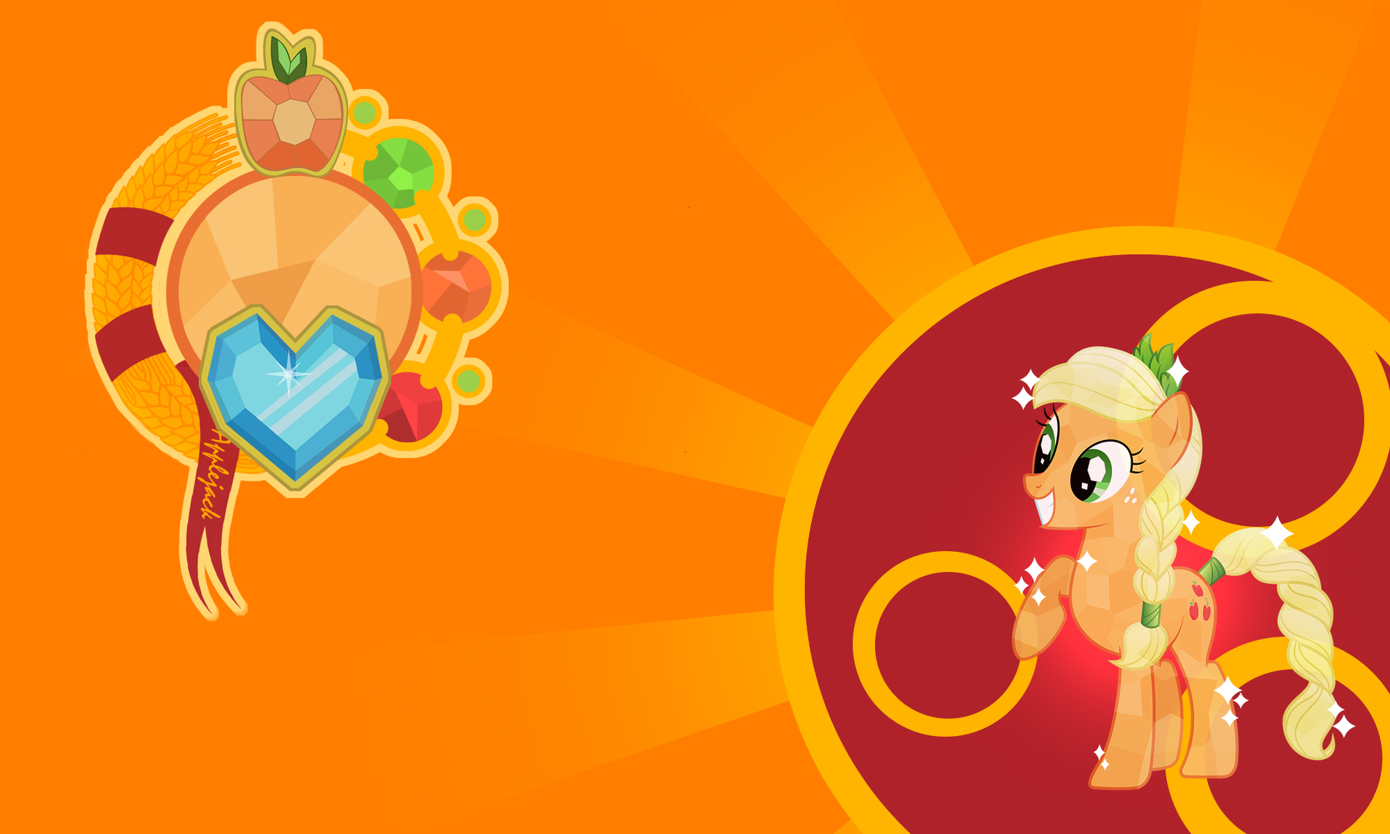 Christian Wallpaper Fall Welcome Download My Little Pony Applejack Wallpaper Gallery