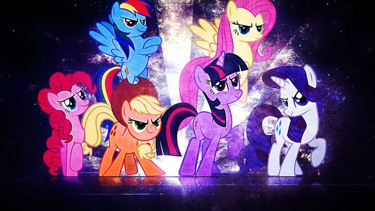 Fall Out Boy Android Wallpaper Download My Little Pony Mane 6 Wallpaper Gallery
