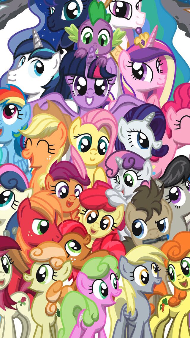 More Dynamic Wallpapers Iphone X Download My Little Pony Wallpaper Phone Gallery