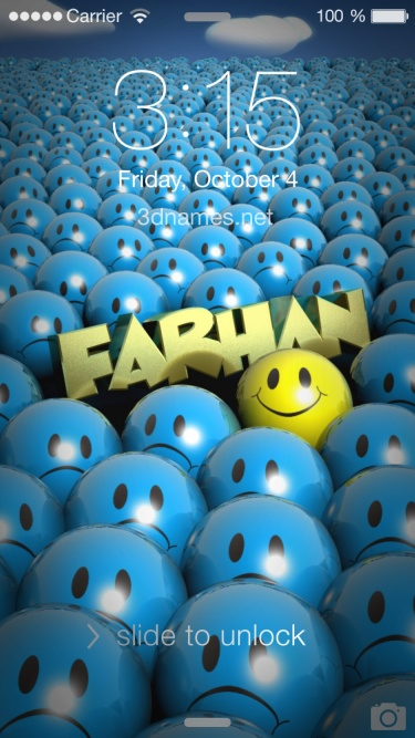 Cute Wallpapers Hd With Quotes Download Name Farhan Wallpaper Gallery