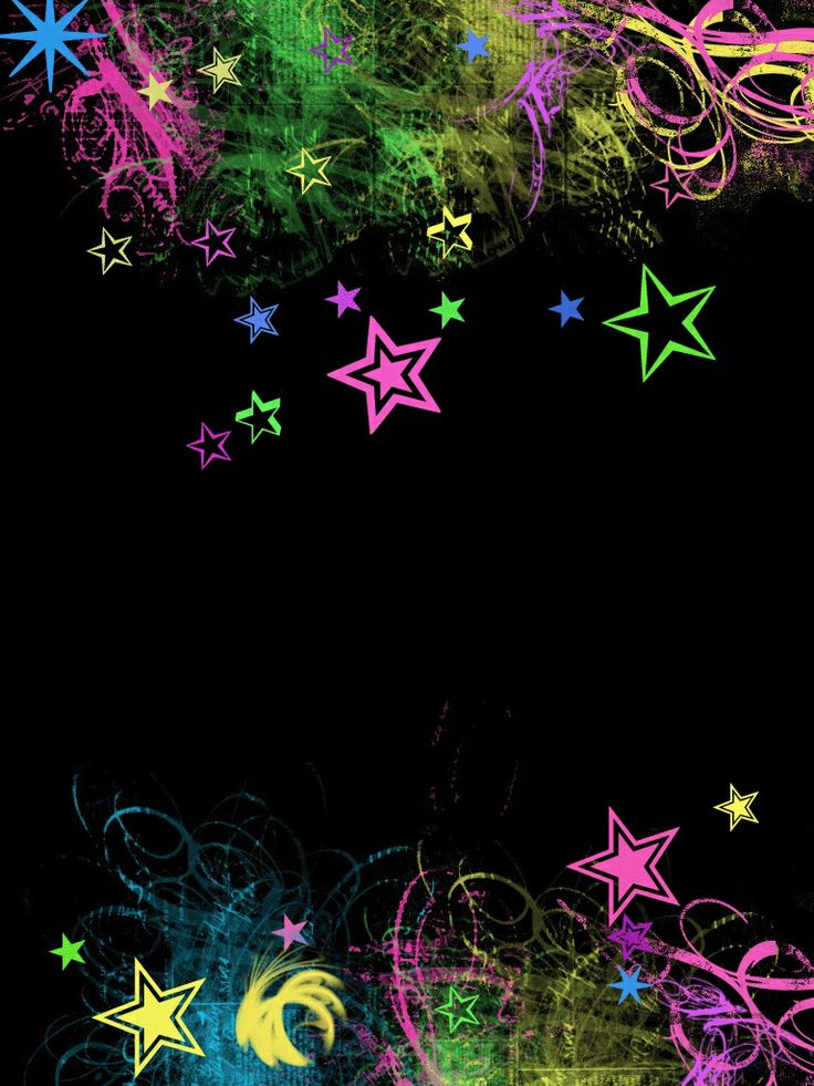 Download Neon Stars Wallpaper Gallery