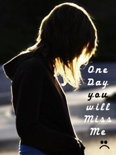 Sad Love Quotes Hd Wallpaper Free Download Download One Day You Will Miss Me Wallpapers Gallery