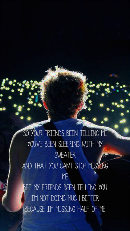 Nike Inspirational Quotes Wallpaper Download One Direction Lyrics Wallpaper Gallery