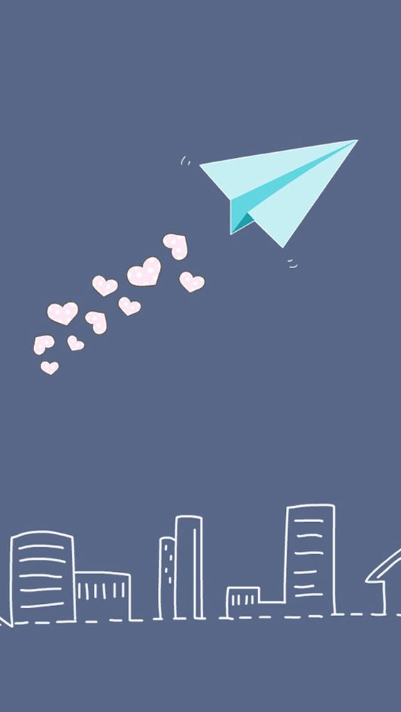 Cute Cartoon Hd Wallpapers For Android Download Paper Airplane Wallpaper Gallery