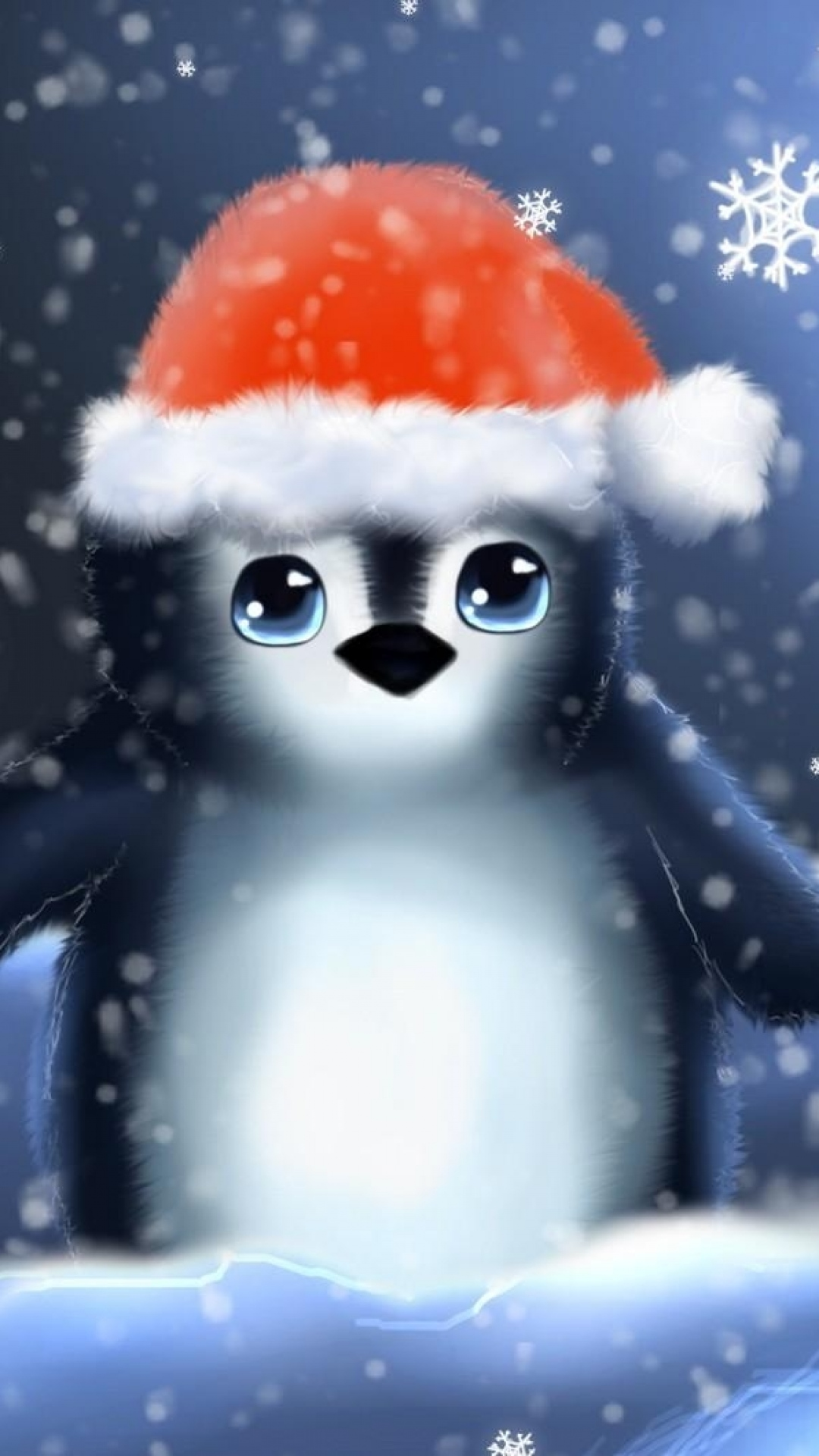 Nice Anime Wallpaper Download Penguin Christmas Wallpaper Gallery