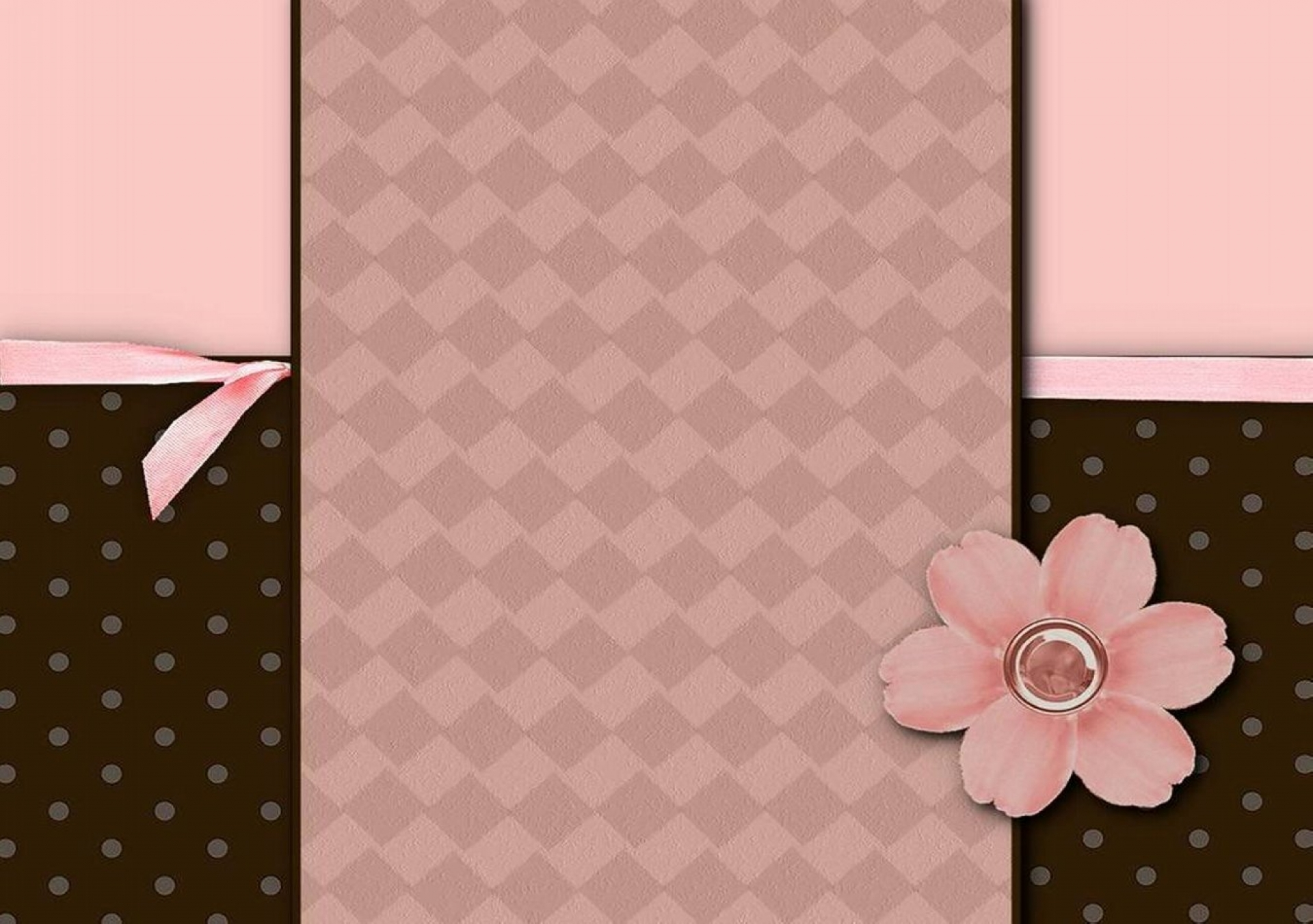 Free Animated Snow Falling Wallpaper Download Pink And Brown Wallpaper Border Gallery