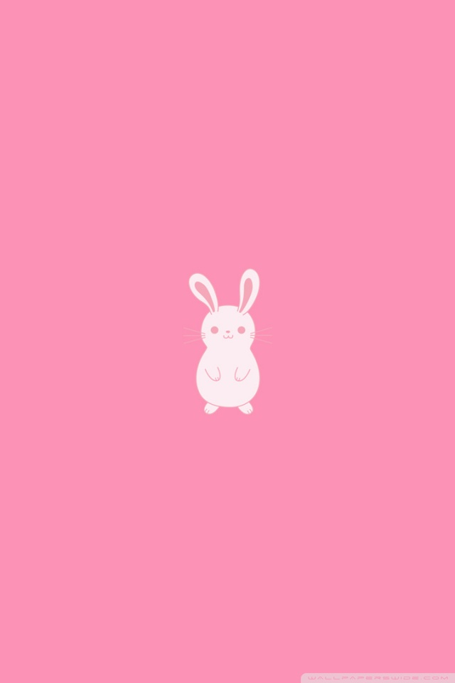 Cute Cartoon Live Wallpaper Download Pink Bunny Wallpaper Gallery