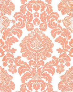 Sonic Iphone Wallpaper Download Red And Cream Damask Wallpaper Gallery