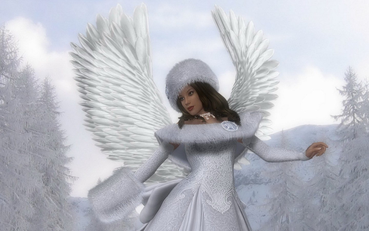 Angel Wallpapers With Quotes Download Snow Angel Wallpaper Gallery