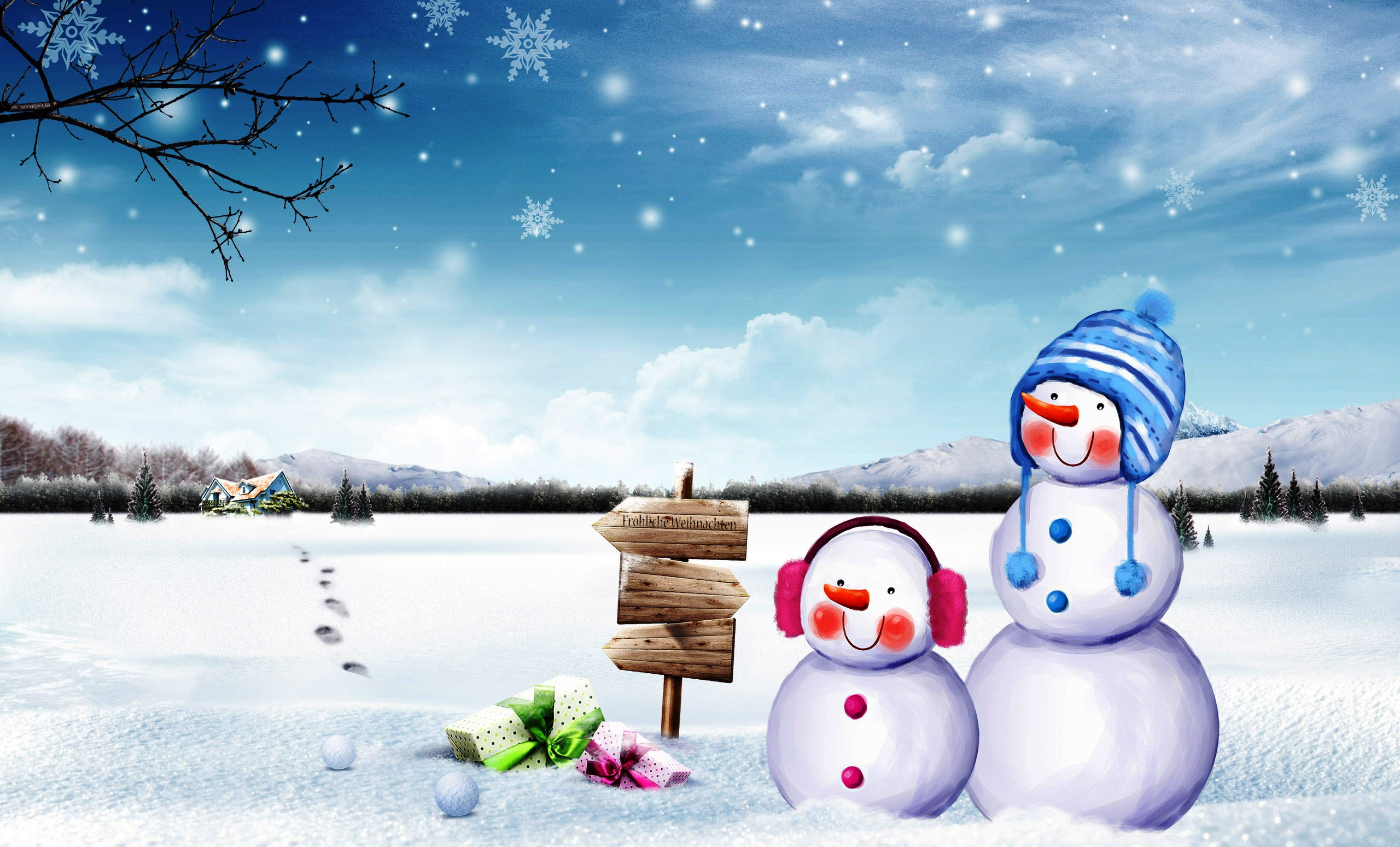 Hd Animated Wallpapers For Mobile Free Download Download Snowman Wallpaper Free Gallery