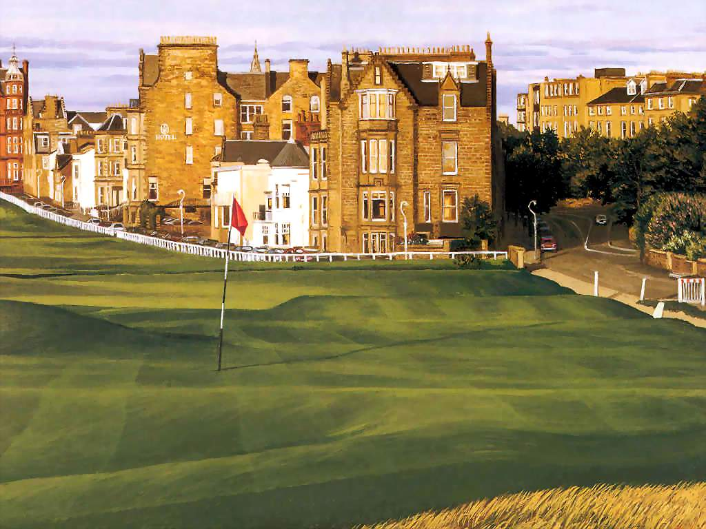 Free Fall Wallpapers Desktop Download St Andrews Golf Wallpaper Gallery