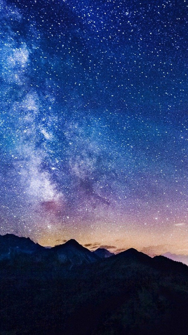 Lucky Star Iphone Wallpaper Download Starry Night Iphone Wallpaper Gallery