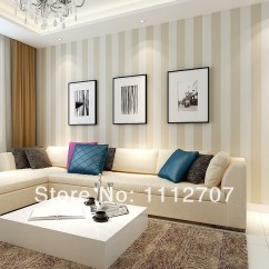 Living Room Borders Wall Painting Colors For Download Striped Wallpaper Gallery