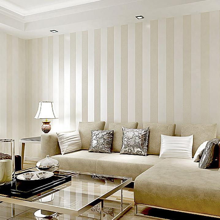 Download Striped Living Room Wallpaper Gallery