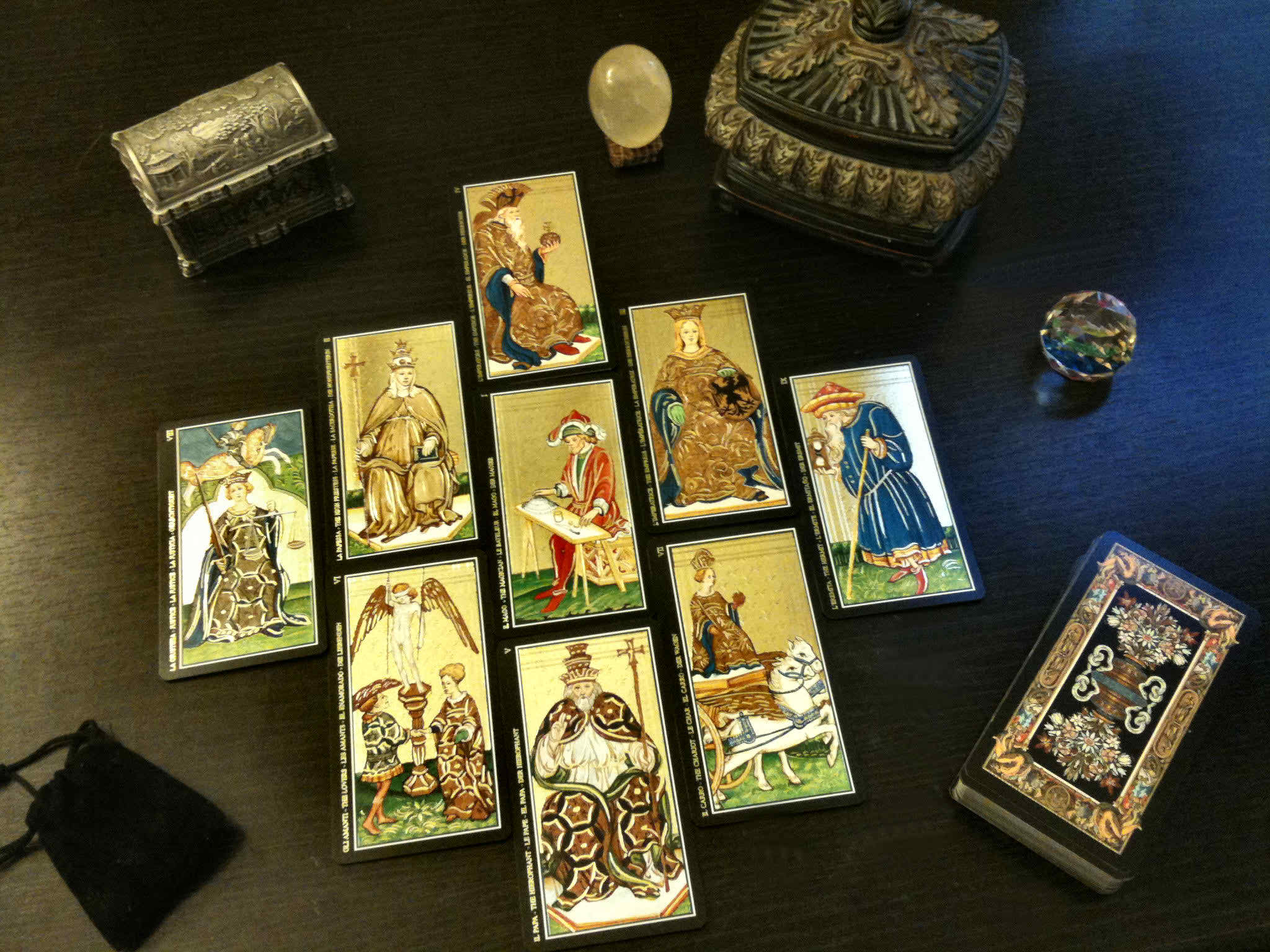 Iphone X Wallpaper Live Android Download Tarot Cards Wallpaper Gallery
