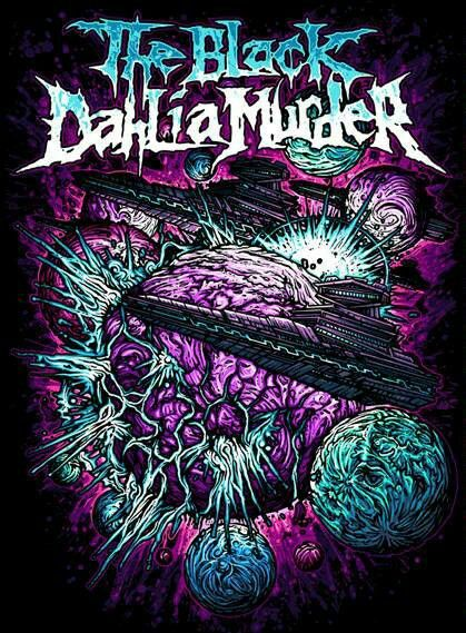 Cool 3d Art Wallpaper Download The Black Dahlia Murder Wallpaper Gallery