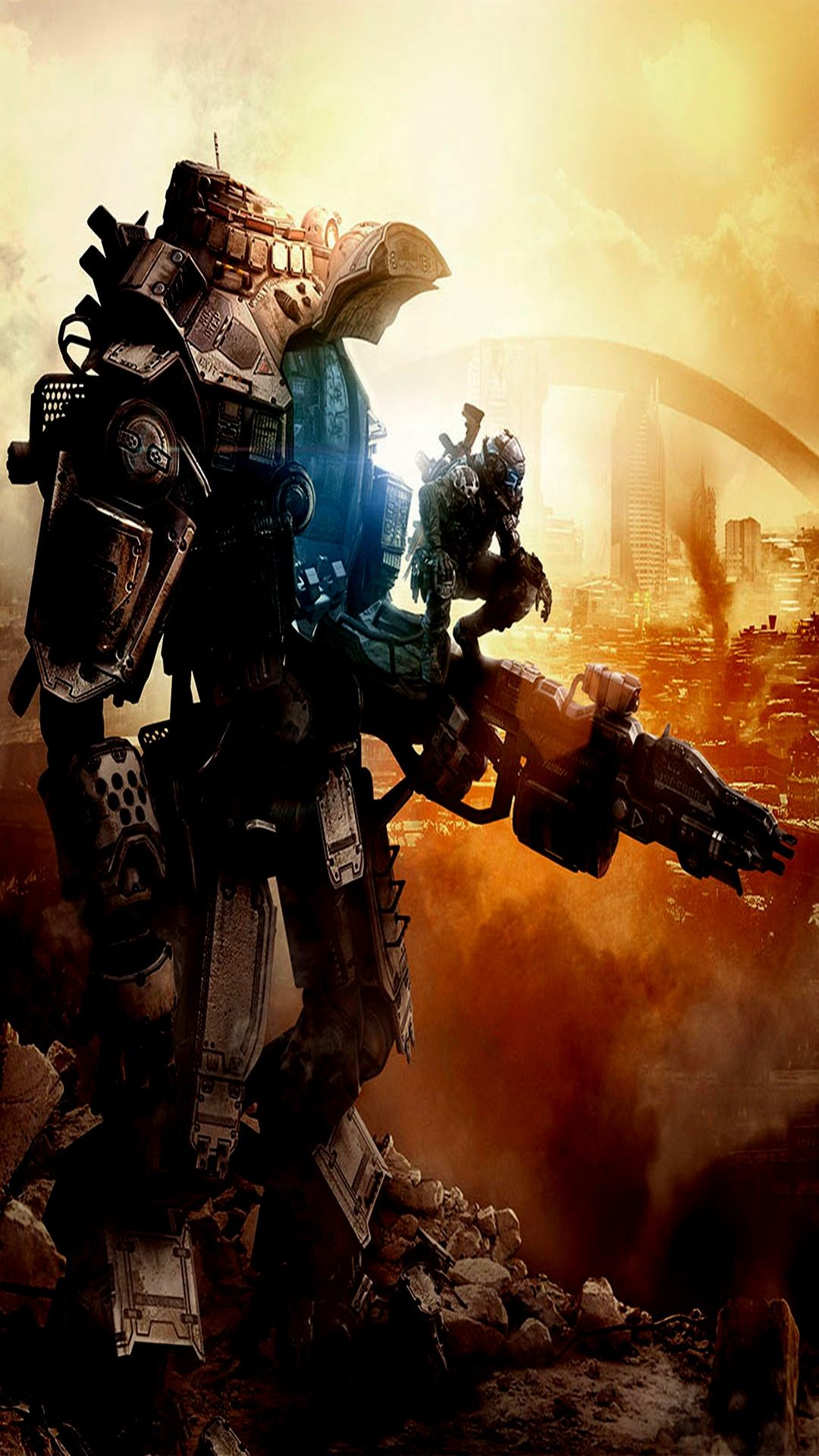 How To Make A Gif Your Wallpaper Iphone Download Titanfall Wallpaper Iphone Gallery