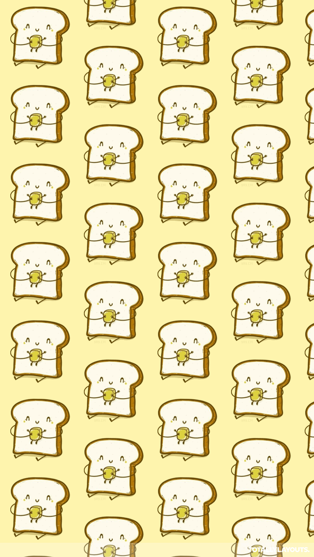 Cute Wallpapers Toast Download Toast Wallpapers Gallery
