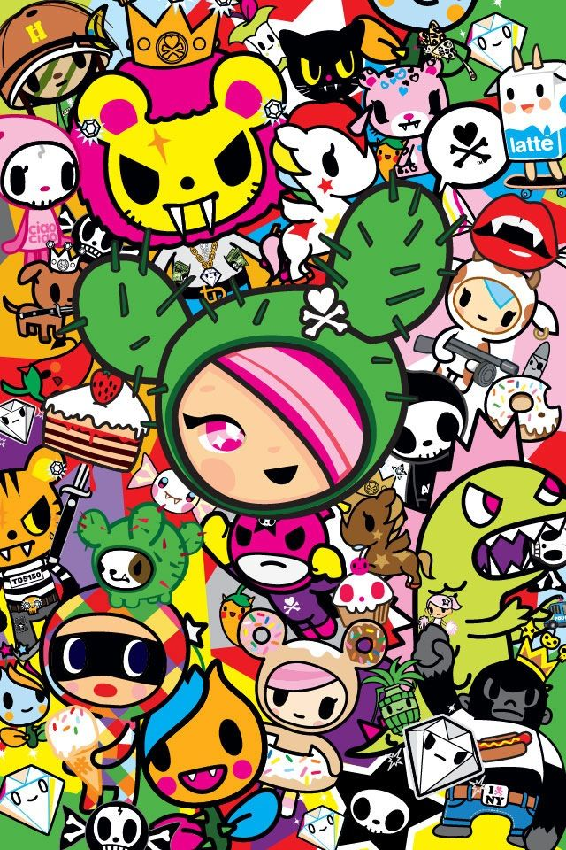 Wallpaper Hd For Desktop Full Screen Cute Download Tokidoki Iphone Wallpaper Gallery