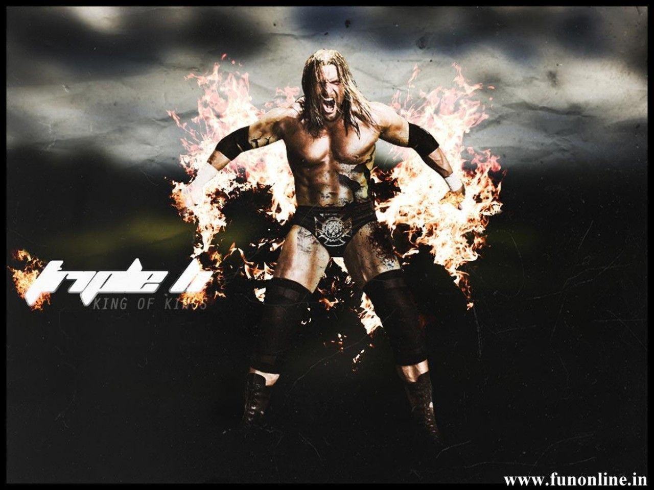 Nice Wallpapers With Quotes For Facebook Download Triple H King Of Kings Wallpaper Gallery