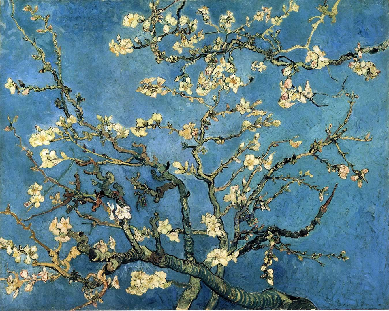 Cute Monkey Wallpapers For Mobile Download Van Gogh Almond Blossom Wallpaper Gallery