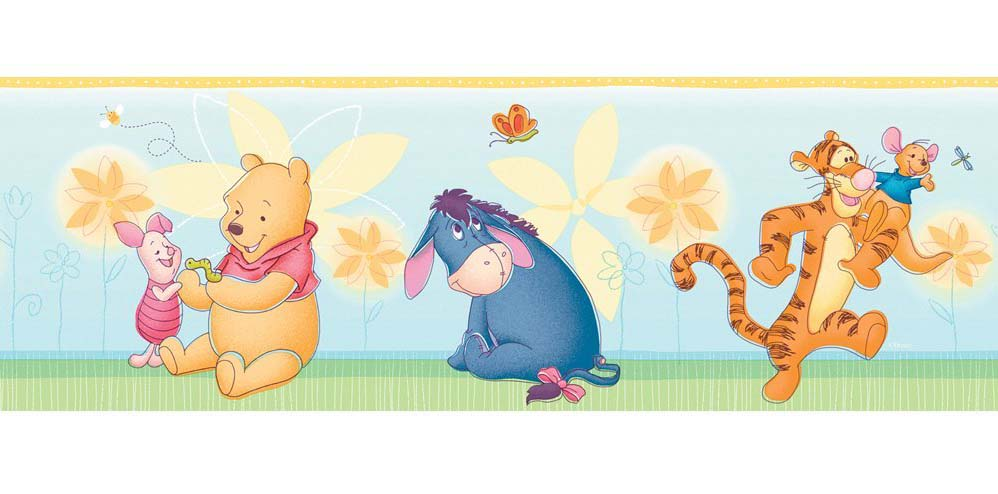 Galaxy S4 Fall Wallpaper Download Winnie The Pooh Wallpaper Border Gallery