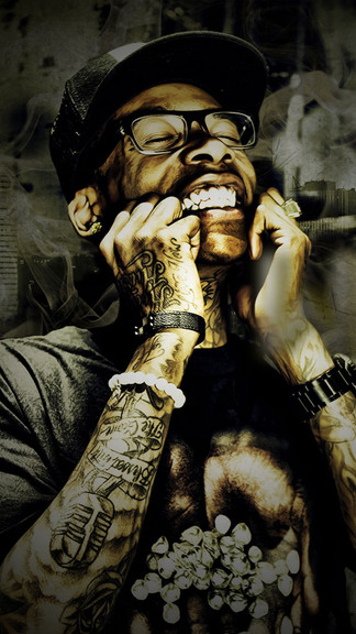 Colourful Wallpapers With Quotes Download Wiz Khalifa Iphone Wallpaper Gallery
