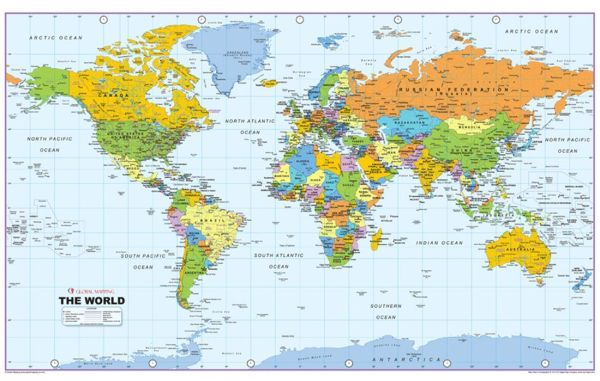 Download World Political Map Wallpaper Gallery