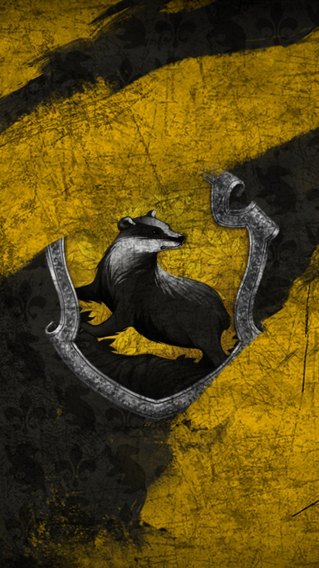 3d Hp Wallpapers Black Download Hufflepuff Wallpapers Gallery