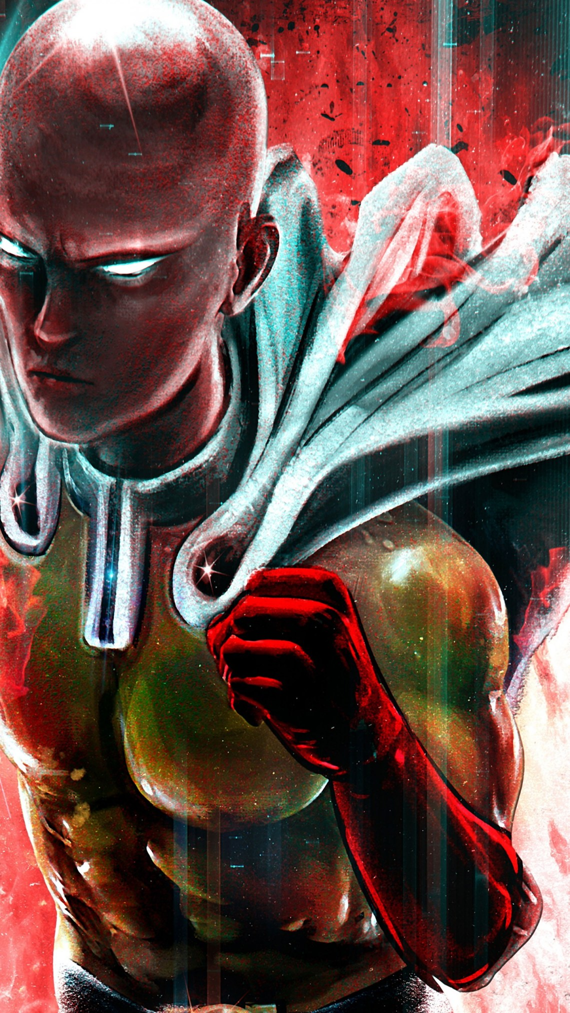 Anime One Punch Man Wallpaper One Punch Man Wallpaper 4k 1440x2560 Download Hd Wallpaper Wallpapertip